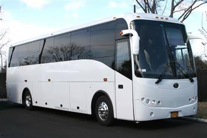 35-passenger charter bus