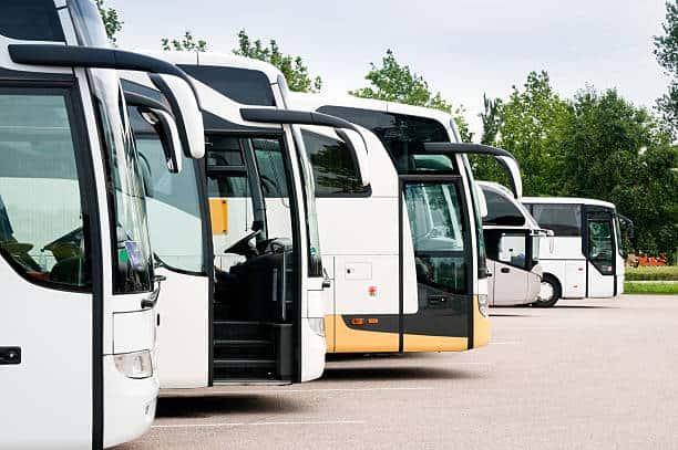 bus companies Queens