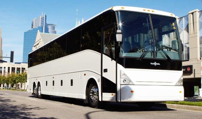 Charter bus rental Queens