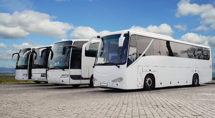 Coach bus Queens